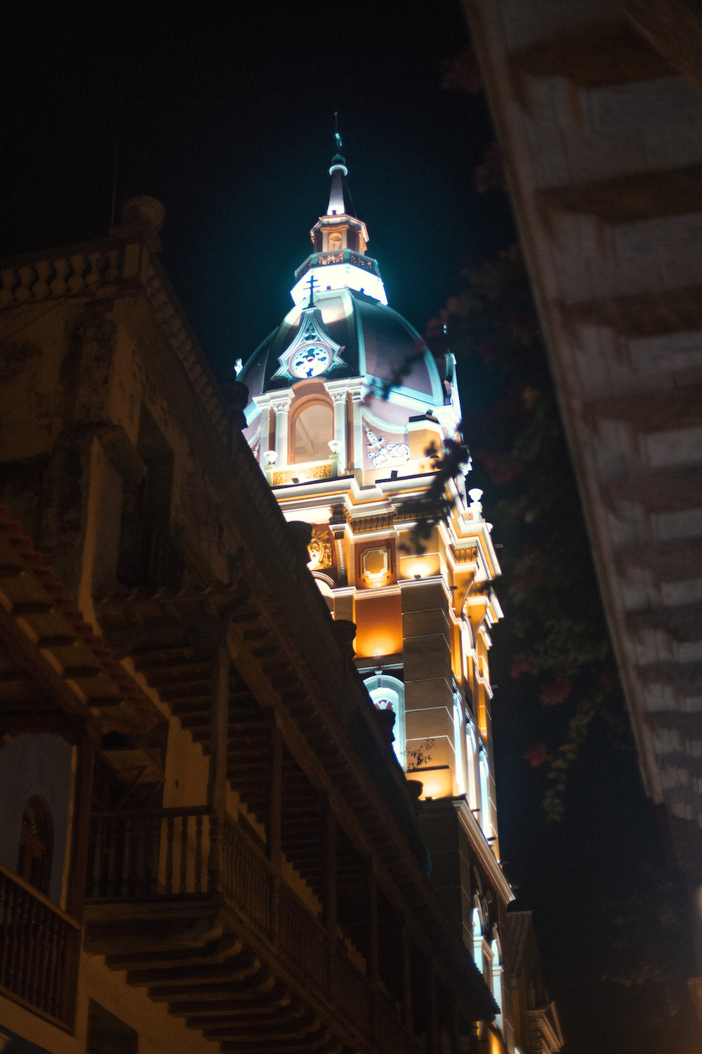 Cartagena-at-Night